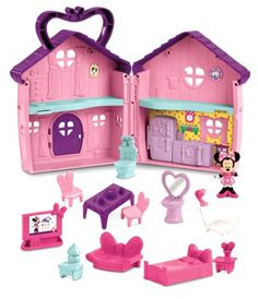 Disney Mickey Mouse Clubhouse Minnie & Daisy's House Fisher for sale online Minnie Mouse House, Minnie Mouse Doll, Disney Mickey Mouse Clubhouse, Minnie Bow, Cool Gifts For Kids, Kids Gifts, Disney Junior, Baby Toys, Kids Toys