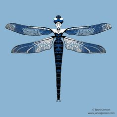 Dragonfly Woman on Behance