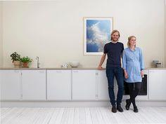 """484 Likes, 6 Comments - Stilleben (@stilleben_dk) on Instagram: """"Laura and Jakob in their Stilleben Kitchen #stillebenkitchen by #hjorthrahbek…"""""""