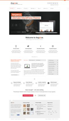 Aegaeus – Responsive Business WordPress Theme http://www.wordpressawards.net/aegaeus-responsive-business-wordpress-theme/ #business #wordpress #theme