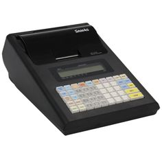 High featured Battery Operated Single Station Cash Register   High Speed (10.5 LPS) Thermal Printer (57mm paper)   Drop in Paper loading   2 x RS232 (RJ-45 Socket) ports for Scanner, Scale, PC communication or Kitchen/Bar Printer.   12 DigitsLCD Operator/Customer
