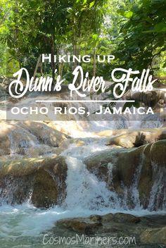 Hiking up Dunn's River Falls, Ocho Rios, Jamaica   CosmosMariners.com