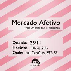 WEBSTA @sapatiko Mercado afetivo é  amanhã e tem SaPaTikOs