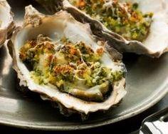 Huîtres chaudes aux herbes (facile, rapide) - Une recette CuisineAZ