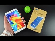 Samsung Galaxy Tab 4.7.0  Unboxing & Review [HD]