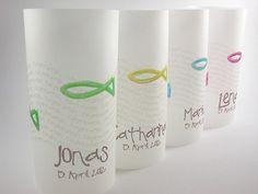 Passend zu meinen Designs gibt es nun auch *Tischlichter* (Lichthüllen) Diese Tischlichter sind auf Transparentpapier gedruckt und anschließend fixiert, so ist der Druck Wasser- und...