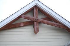 Woodcrafted, Old Style Exterior Faux Beam