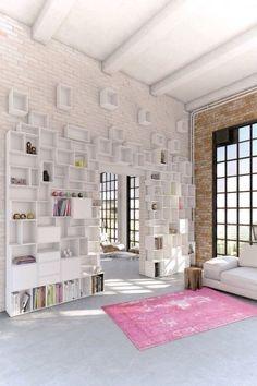 Les murs en briques
