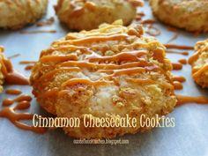 Cinnamon Cheesecake Cookies. (Christmas Cookies)