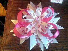 Breast cancer bow 2