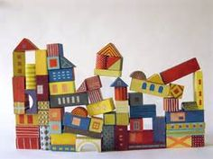 painted blocks - Bing images