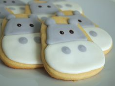 Hippo Cookies for Ozzy's First Birthday | Make Me Cake Me