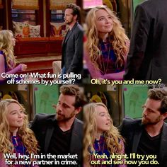 "#GirlMeetsWorld 1x18 ""Girl Meets Master Plan"" - Maya and Shawn"
