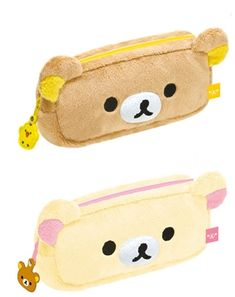 Rillakuma pencil cases