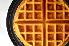 Add a seasonal spin to your morning meal with a quick and easy recipe for the best pumpkin waffles made with buttermilk and plenty of pumpkin spice. Crepes And Waffles, Breakfast Waffles, Breakfast Items, Breakfast Recipes, Pancakes, Pumpkin Recipes, Fall Recipes, Sweet Recipes, Pumpkin Pumpkin