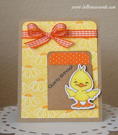 Loving the colours... Duck Dolls stamp set.