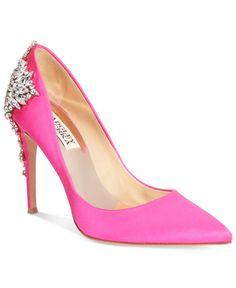 Badgley Mischka Gorgeous Pointed-Toe Evening Pumps