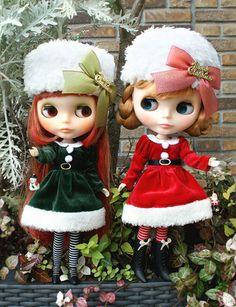 Santa's little ✿⊱╮b l y t h e ❤  helpers
