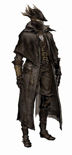 A page for describing Characters: Bloodborne Main Characters. Bloodborne Main Character Index Main Characters Bloodborne Concept Art, Bloodborne Art, Bloodborne Cosplay, Bloodborne Outfits, Fantasy Rpg, Medieval Fantasy, Dnd Characters, Fantasy Characters, Bloodborne Characters