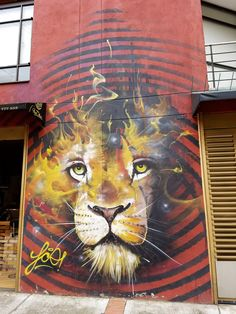 Bogotá Colombia - Street Art & Graffiti – This is from the Parque de los Periodistas, near El Centro (Old Downtown) district of Bogotá
