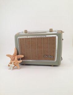 1960s German Blaupunkt Derby Transistor Radio - Vintage Radio - Retro Decor - Volkswagen Radio - Retro Radio - Old Music - Music Lover