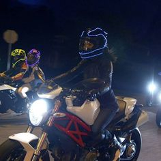 Lightmode Helmet Lights – How to light up your helmet like Tron