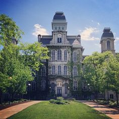 Hall of Languages Photo by pseudologos Syracuse University, University Life, Westchester County, Languages, Pride, College, Traditional, Education, Mansions