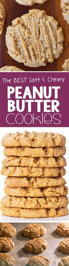 These are the BEST peanut butter cookies you will ever try, and they're secretly healthy and vegan!