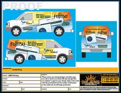 What Are The Best Vehicle Wrap Templates Sunrise Signs
