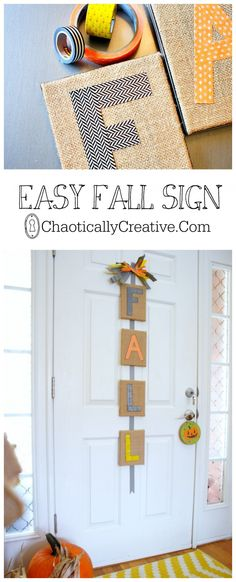 Easy Fall SIgn