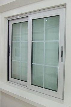 Window Grill Design Modern, Balcony Grill Design, Grill Door Design, Modern House Design, Aluminium Windows And Doors, Upvc Windows, Sliding Windows, House Windows, Aluminum Windows Design