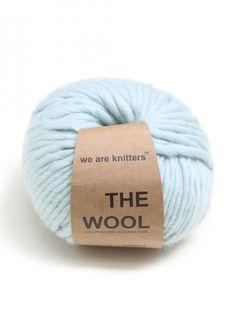 100% Wolle aus Peru Aquamarinblau