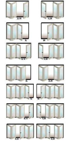 Options! :) bifold exterior doors | Home / Doors / USA Folding Door Exterior Bi Fold / Exterior Folding ...