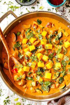 Mango Chicken Curry, Lime Chicken, Homemade Tahini, Homemade Hummus, Hummus Recipe Variations, Best Hummus Recipe, Recipe 4, Apple Walnut Salad, Mango Sauce