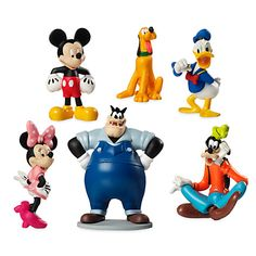 [Gang's all here]Meeska, Mooska, Mouseketeers! Unlock Clubhouse fun with Mickey Mouse, Minnie Mouse, Donald Duck, Goofy, Pete,…
