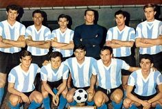 Argentina 1966 World Cup - my kind of team!
