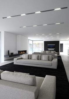 Sharp design, Private house in France, beautiful ceiling and spacious area (photo Serge Brison).