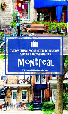 Tips and insight on what it's like to live in #Montreal, and what you should know before moving there http://toeuropeandbeyond.com/moving-to-montreal/