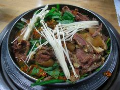 Bang Tyae Sick has owned Bulrocho since 2007, specializing in goat stew, made with a lean red meat that is known for its health benefits.