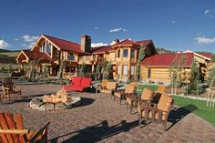 LHM Denver - Own a piece of Colorado history with one of the last remaining large ranches preserving pre-1900's water rights. Situated on 3600 acres in South Park, Colorado, Flying Horse is located 50 minutes from Denver and the slopes of Breckenridge. Complete with an impressive 12,000 sq. ft. lodge, two caretaker homes, and a fishing camp, this property is one of the top 5 working ranches in the United States. One with Nature Fenced with 11 miles of buck rail, Flying Horse Ranch has...