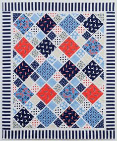 four fabric quilt patterns images - Google Search