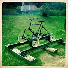 Check out this epic bug out vehicle. The bug out rail bike is a cheap and…