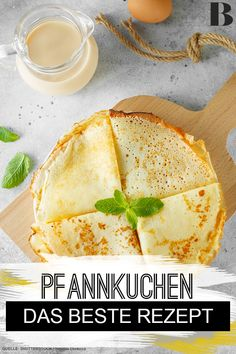 Pancakes - The best Pfannkuchen – Das beste Rezept Pancakes – The best recipe. Their scent is irresistible, they are quickly baked and simply taste delicious: Today there are pancakes like at grandma& A little compote or fresh fruit – and enjoy! Breakfast Recipes, Dessert Recipes, Desserts, Banana Breakfast, Breakfast Cookies, Recipes Dinner, Diet Recipes, Healthy Recipes, Yummy Recipes