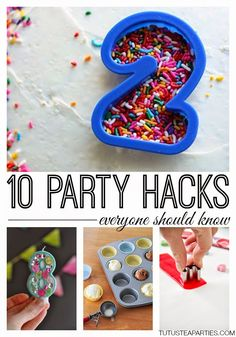 Tutus and Tea Parties: 10 Birthday Party Hacks Everyone Should Know
