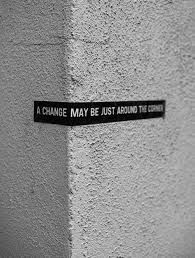 Change is coming.