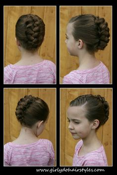 Girly Do Hairstyles: By Jenn: Braided Faux-Hawk