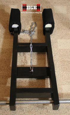 homemade calf raise machine  homemade gym equipment