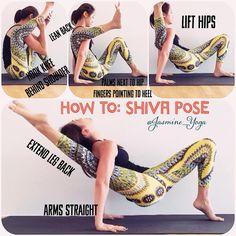 """1,979 Likes, 97 Comments - Jasmine Chong 🦄 (@jasmine_yoga) on Instagram: """"#JasmineYogaTutorial : #ShivaPose  When I first saw this pose on Instagram, I couldnt figure out…"""""""