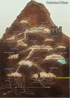 Dungeons of Golarion - Zolurket Mines