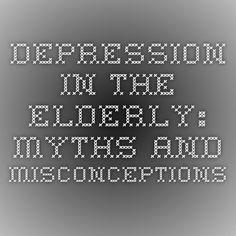essay on depression in the elderly